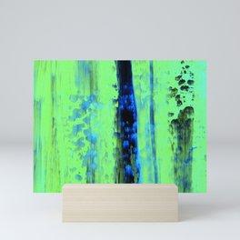 Urban Rain IV Painterly Abstract - Corbin Henry Modern Art Mini Art Print