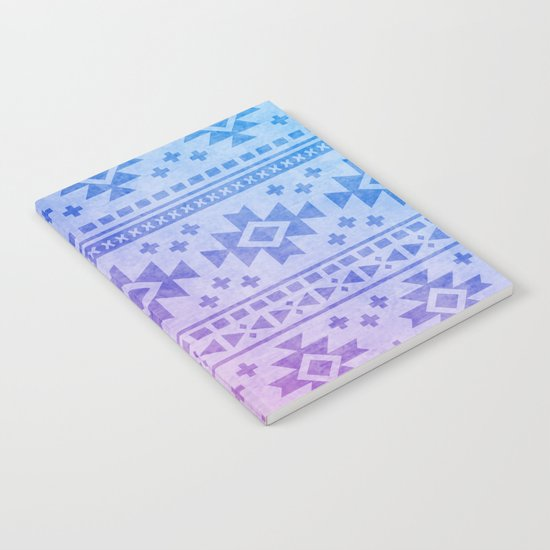 Aztec Pattern 04 Notebook