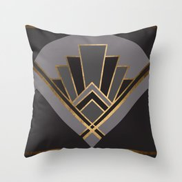 Art Deco Graphic No. 82 Throw Pillow