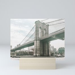 Brooklyn Bridge in New York, NY - Photography Mini Art Print