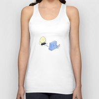 video games Tank Tops featuring Onigiri video games! by RAIKO IVAN雷虎