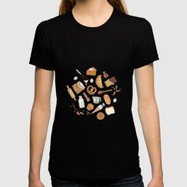 Bakery Essentials Pattern T-shirt