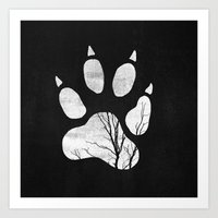 into the wild Art Prints featuring Wild by Elisabeth Fredriksson