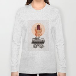 Traveling with loneliness Long Sleeve T-shirt