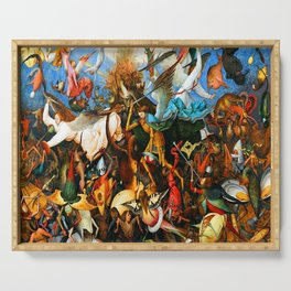 Pieter Bruegel the Elder Rebel Angels Serving Tray