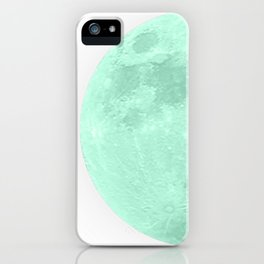 TEAL MOON iPhone Case