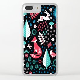 Electric Forest Clear iPhone Case