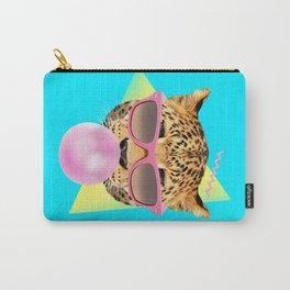 Bubble Gum Leo Carry-All Pouch