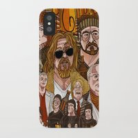 the big lebowski iPhone & iPod Cases featuring The Big Lebowski by David Amblard