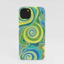 Abstact Color Pensil ArtWork iPhone Case