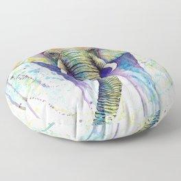 Colorful Elephant Floor Pillow