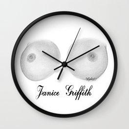 Janice Griffith Wall Clock