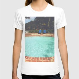 Two Chairs at the Pool T-shirt
