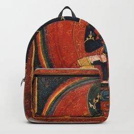 Tibetan Buddhist Tsakalis Samanthabhadri Consort Backpack