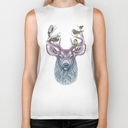 Magic Buck Biker Tank