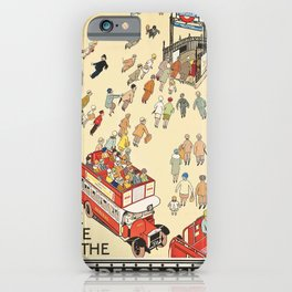 London Underground Vintage iPhone Case