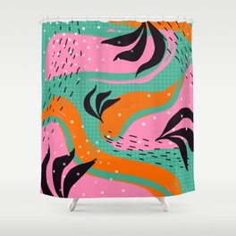 Miami Feels Shower Curtain
