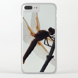 Shadowed Clear iPhone Case