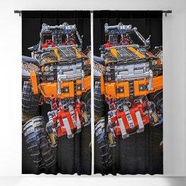 monster truck technic technic Blackout Curtain