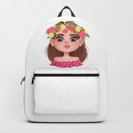 The Head of a Slavic Girl Backpack