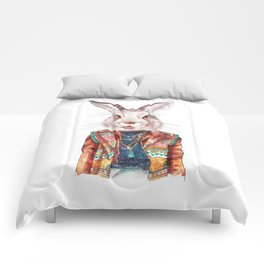 Bunny hippy (female) Comforters