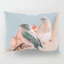 Birds on Hand Pillow Sham