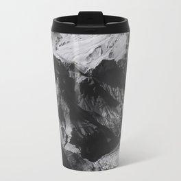 Desert at Grand Canyon national park, USA in black and white Travel Mug