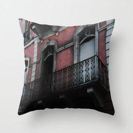 CASITA ROSA Throw Pillow