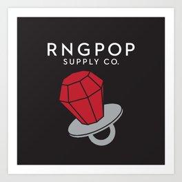 RNGPOP Art Print