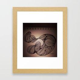 Brat Doll Art - Swirly Stuff Framed Art Print