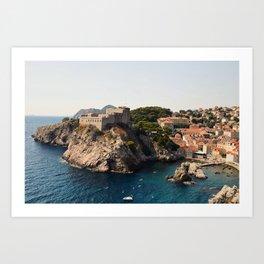 Dubrovnik, Croatia Art Print