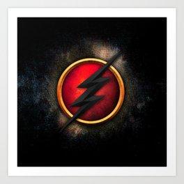 FLASH-HERO Art Print