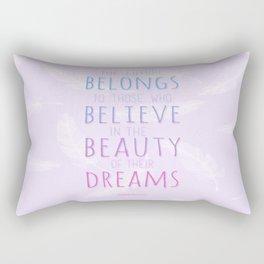 Beauty Dreams Rectangular Pillow