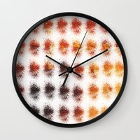 brown Wall Clocks featuring Brown by zAcheR-fineT