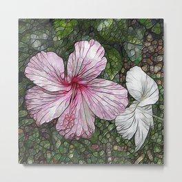 Fabulous hibiscus Metal Print