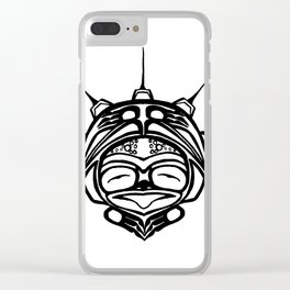 Ink Frog Spirit Clear iPhone Case