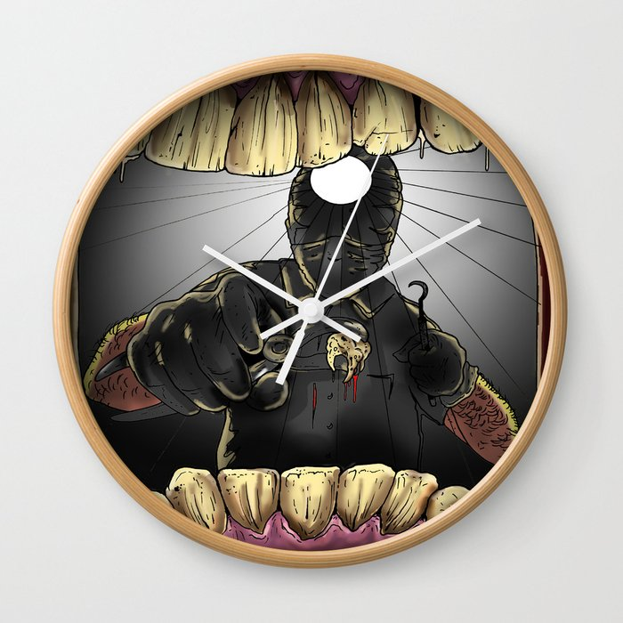 My Perfect Teeth Wall Clock
