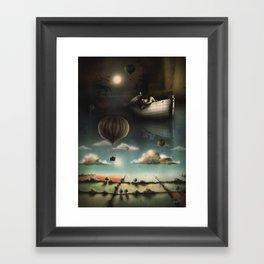 Above, Below, & Beyond Framed Art Print