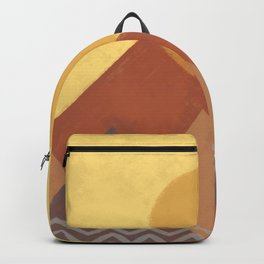 Abstract Warm Morning  Backpack