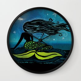 Mermaid Song Wall Clock