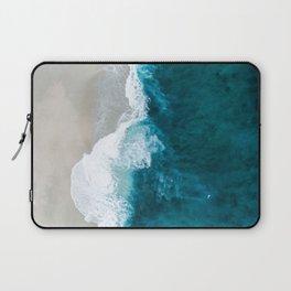 Ocean Divide Turquoise Sea Laptop Sleeve