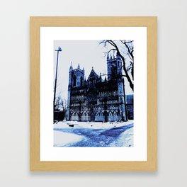 Snow Castle Framed Art Print