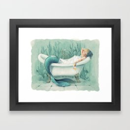 Mer-Time Framed Art Print