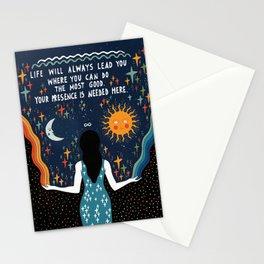 Do the most good Stationery Cards