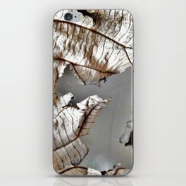 Jagurmo leaf iPhone Skin