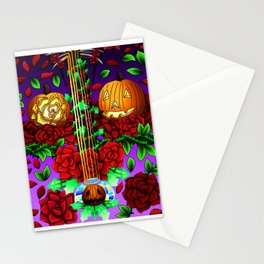 Fusion Keyblade Guitar #145 - Pumpkinhead & Divine Rose Stationery Cards