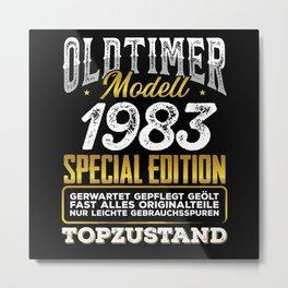 Classic car modell 1983 Metal Print