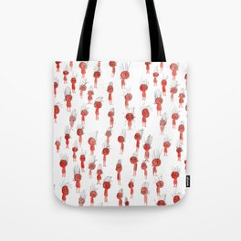 Oompa Loompa Pattern Tote Bag