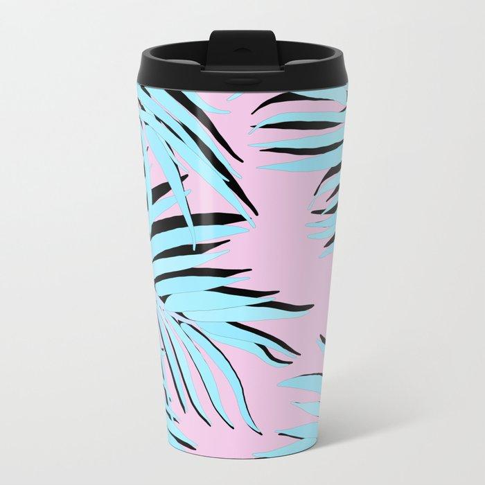 Palm tree Metal Travel Mug