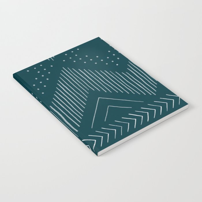 Teal Tribal Notebook